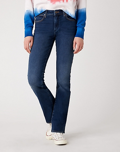 Bootcut Jeans in Dusty Trail