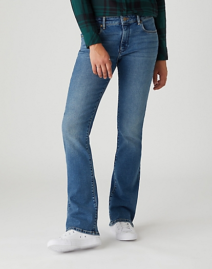 Bootcut Jeans in Nomad Sand