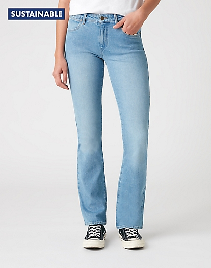 Bootcut Jeans in Desert Trail