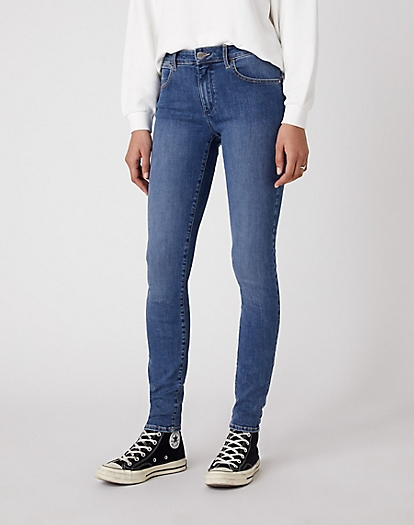 Skinny Trouser in Easy Blue