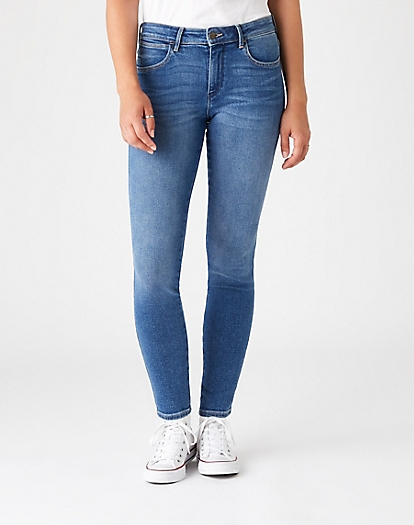 Skinny Trouser in Air Blue