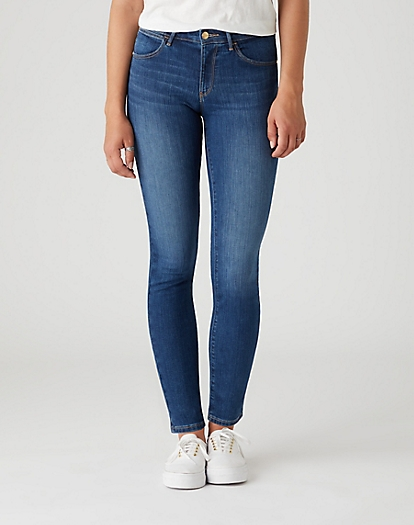 Skinny Jeans in Authentic Blue