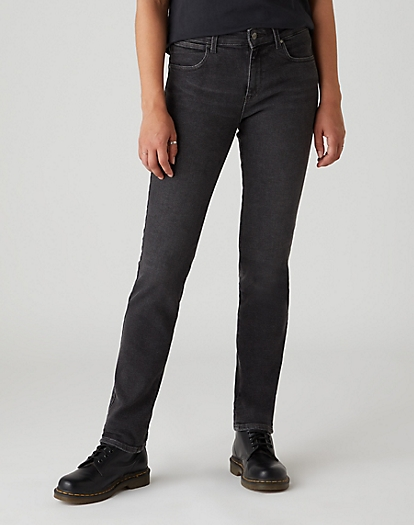 Slim Jeans in Black Beauty
