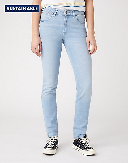 Slim Jeans in Clear Blue