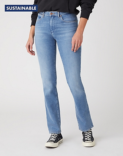 Straight Jeans in Sunkiss