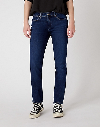 Straight Jeans in Dark Valley