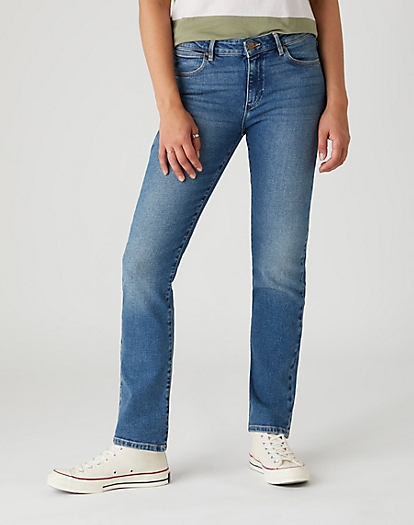 Straight Jeans in Nomad Sand