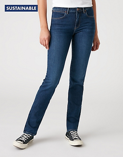 Straight Jeans in Harbour Blue