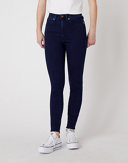 Wriggler Jeans in Ink Blue