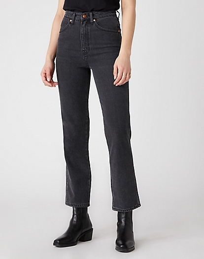 Wild West Jeans in Rinsed Black