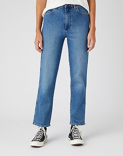 Wild West Jeans in Mid Blue