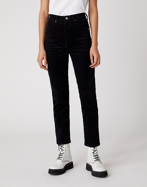 ICONS 11WWZ SLIM CORDUROY TROUSER IN BLACK