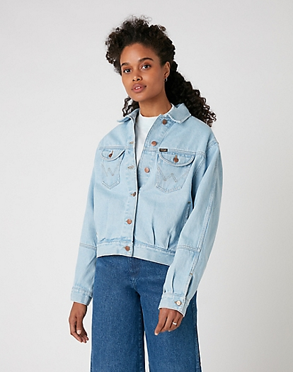 Western Utility Jacket in Cloud Nine