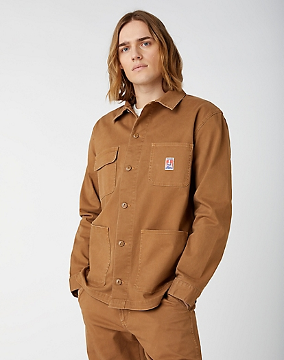 CASEY CHORE JACKET IN TOASTED COCONUT
