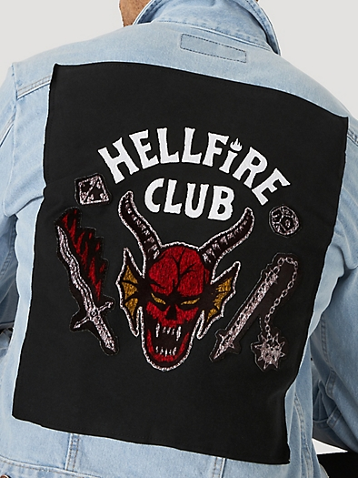 Wrangler x Stranger Things Unisex Hellfire Club Jacket