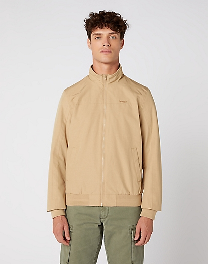 Bomber Jacket in Sand