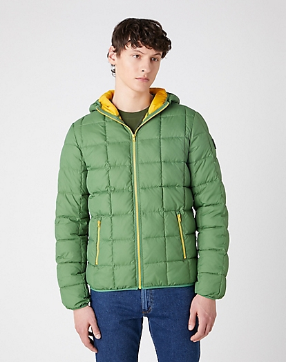The Puffer Jacket in Artichoke Green