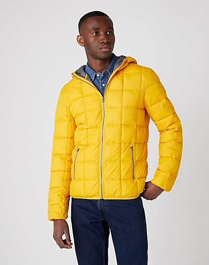 The Puffer Jacket in Golden Rod