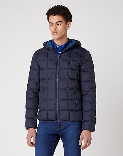 The Puffer in Dark Navy
