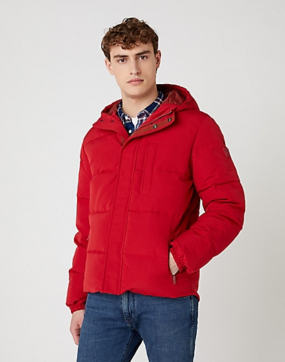 The Bodyguard Jacket in Red
