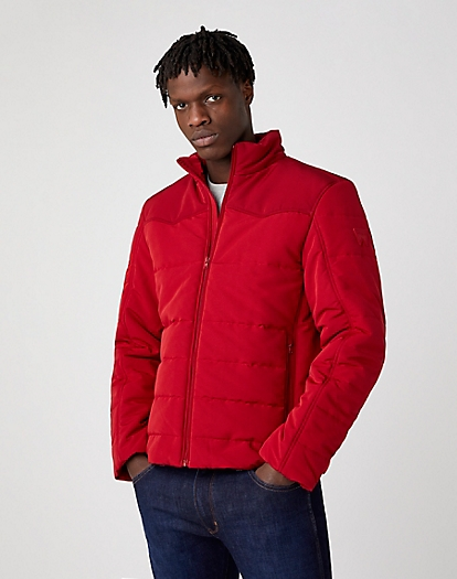 Transitional Puffer in Rio Red