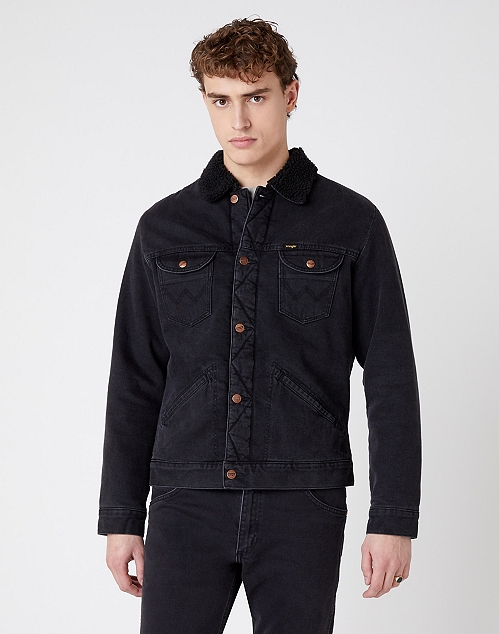 ICONS 124MJ SHERPA IN BLACK WASHED