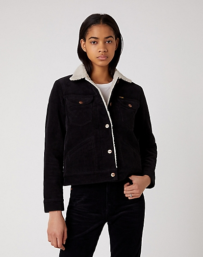 Icons 124WJ Sherpa in Black