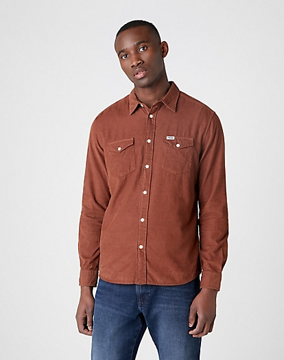 Two Pocket Flap Shirt in Tortoise Shell
