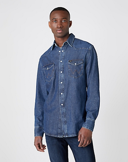 Indigood Icons 27MW Western Shirt in Good Day