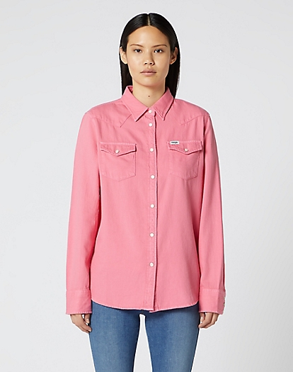 Jeanies Shirt in Bubblegum Pink