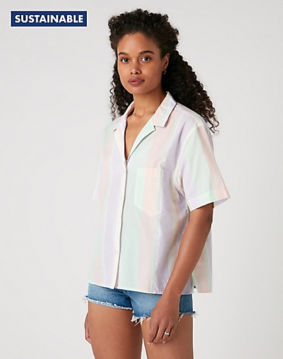 Tourist Shirt in Pastel Violet