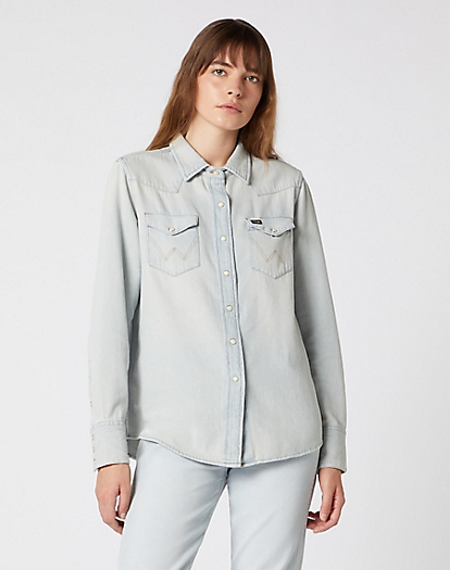 Icons 27WW Western Shirt in Blue Rhapsody