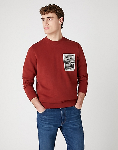 Explorer Sweater in Rusty Brown