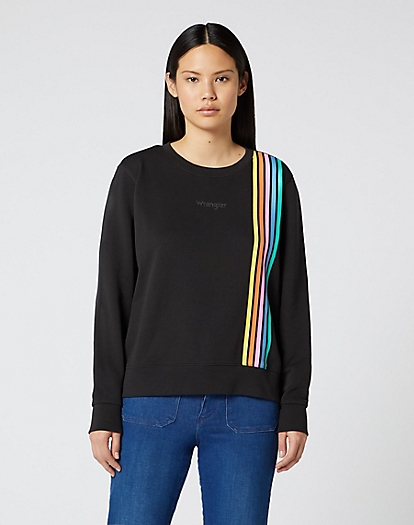 Regular Sweater in Faded Black