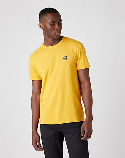 Sign Off Tee in Golden Rod
