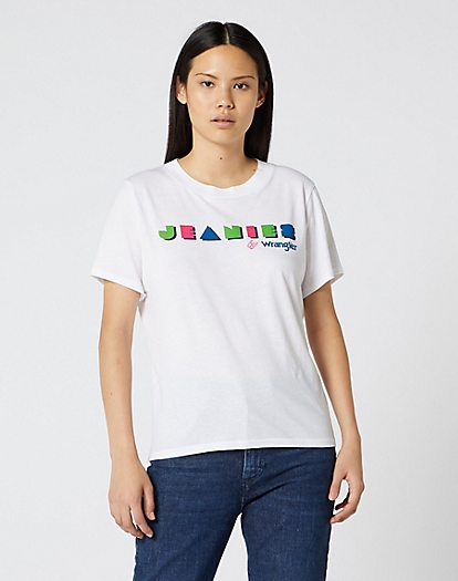 Jeanies By Wrangler Tee in White