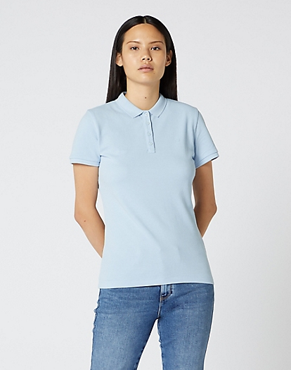Polo in Cashmere Blue