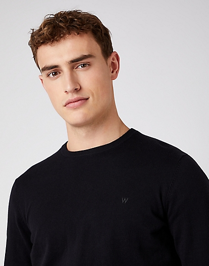 Crewneck Knit in Black