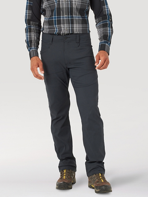 ALL TERRAIN GEAR™ BY WRANGLER® MEN'S SYNTHETIC UTILITY PANT IN CAVIAR
