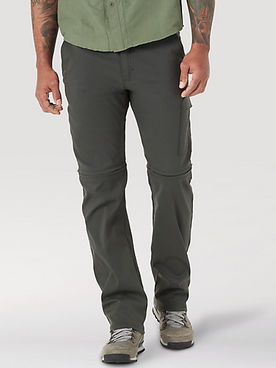 All terrain gear Zipoff Cargo Trousers in Raven