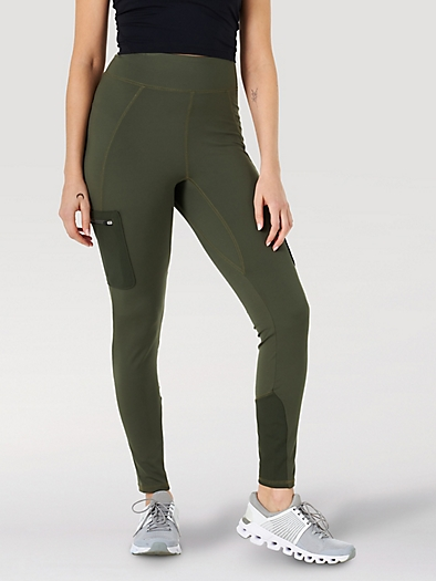 All terrain gear Cargo Legging in Olive