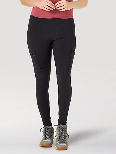 All terrain gear Cargo Legging in Black