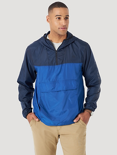 Packable Jacket in Navy