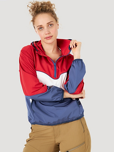 Windbreaker in Rouge